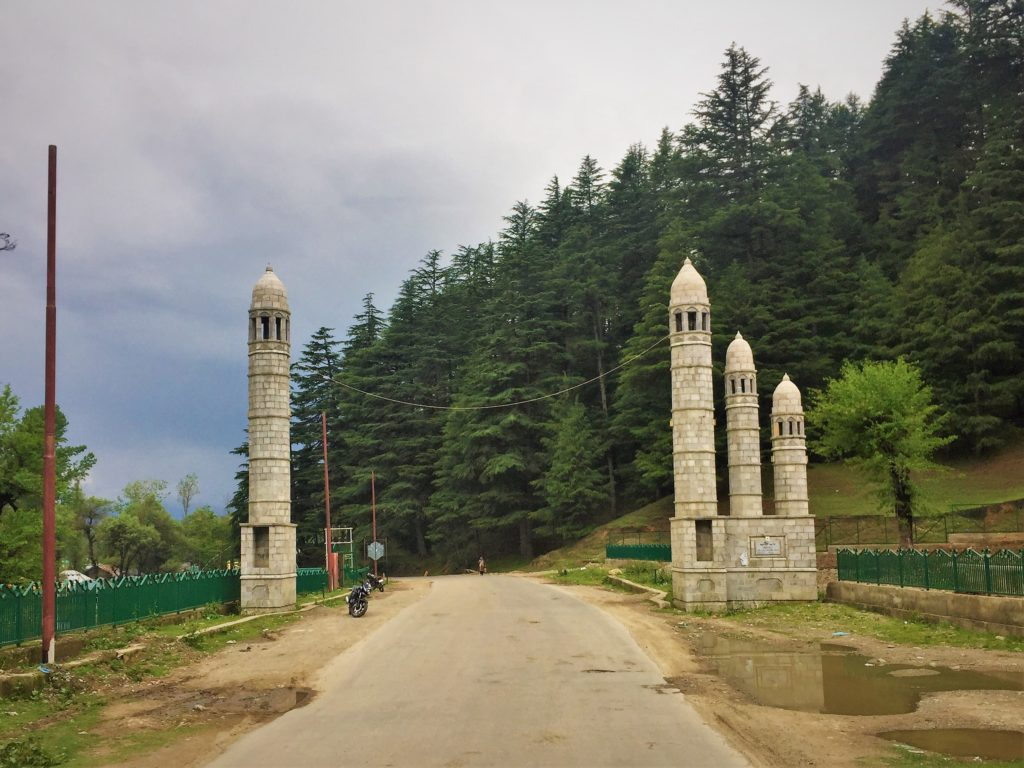 Entrance of Lolab Valley
