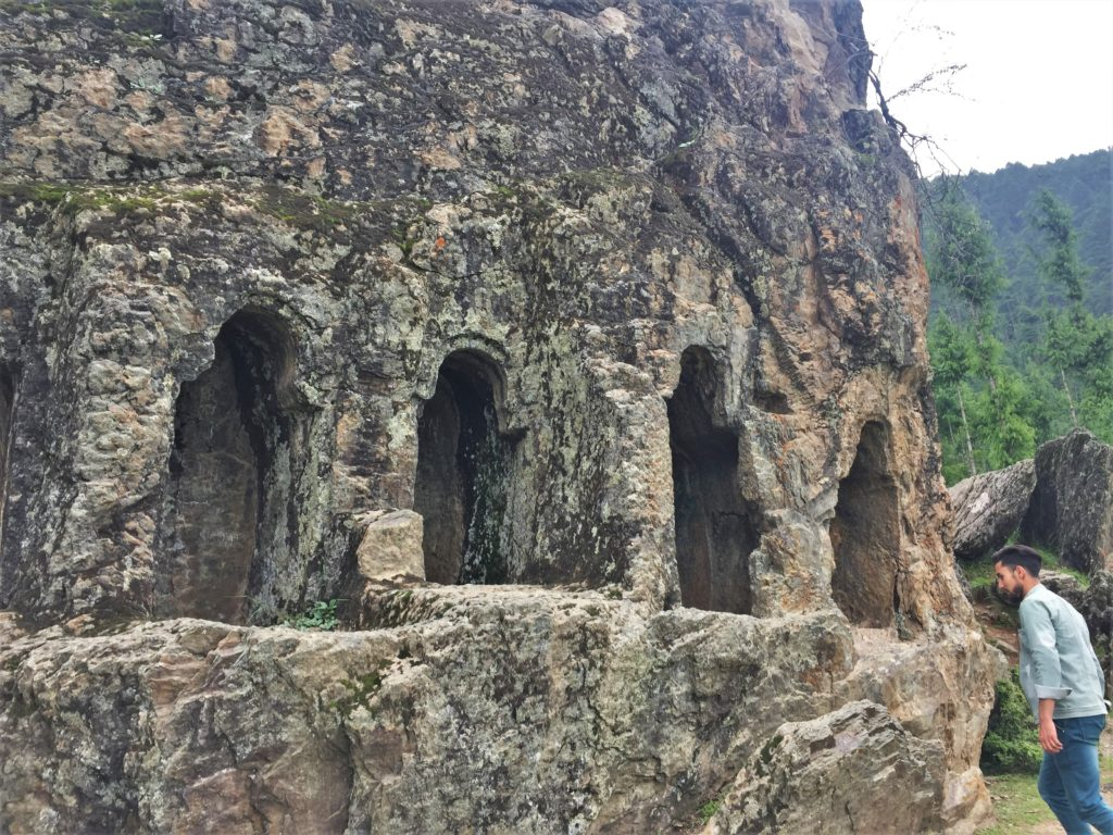 It is believed that these seven doors also represent seven routes/caves to Russia.