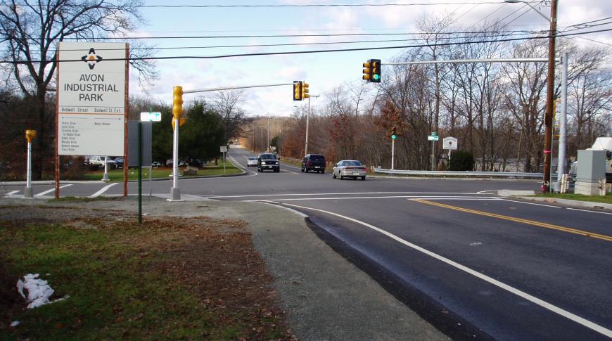 Traffic Signals Bodwell Street, Avon