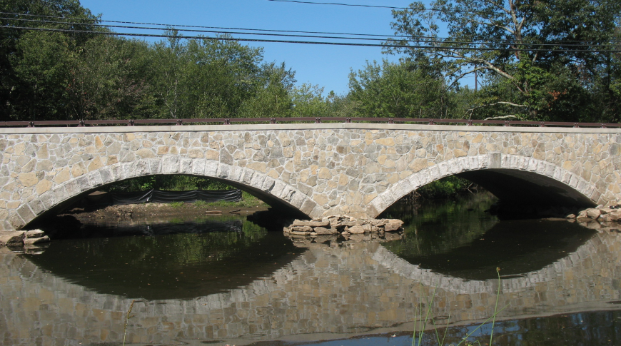 Pleasant Street Bridge over the Blackstone River in Grafton.