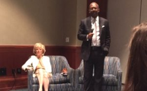 Q & A with Lesley Stahl and Pierre Thomas