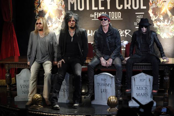 MÖTLEY CRÜE Announce Final Tour