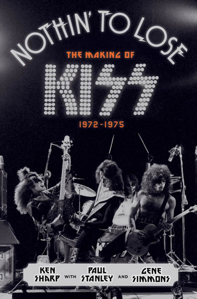 """CONGRATUALTIONS TO KENT NICHOLAS OF OLD HICKORY, TN FOR WINNING a copy of KISS' """"Nothin to Lose"""" Book autographed by Gene Simmons and Paul Stanley"""