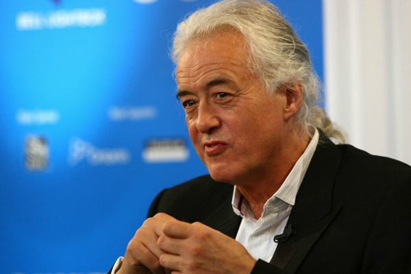 Jimmy Page to give 2014 Berklee commencement