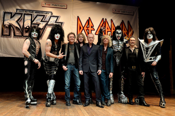 CONGRATULATIONS TO DAVID JONATHAN TAYLOR OF THE UNITED KINGDOM for Winning the KISS and Def Leppard tickets and KISS 40 CD