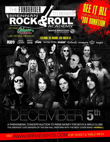 """CONGRATULATIONS TO DANIEL STAR OF WHITE LAKE, MN for Winnning the tickets to """"THE Fundraiser"""" to benefit the Brennan Rock and Roll Academy"""