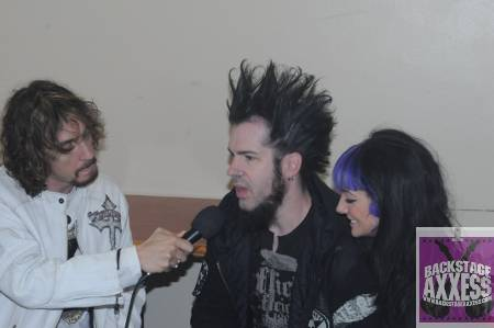 Wayne Static and Tera Wray (Static X) Interview