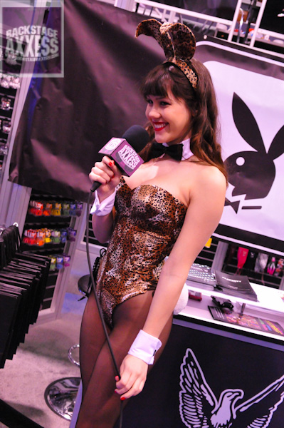 CONGRATULATIONS TO BRIAN JANKOWSKI OF BUFFALO, NY FOR WINNING the autographed 8 by 10 and collectible guitar pick of 2011 Playboy Playmate of the Year Claire Sinclair