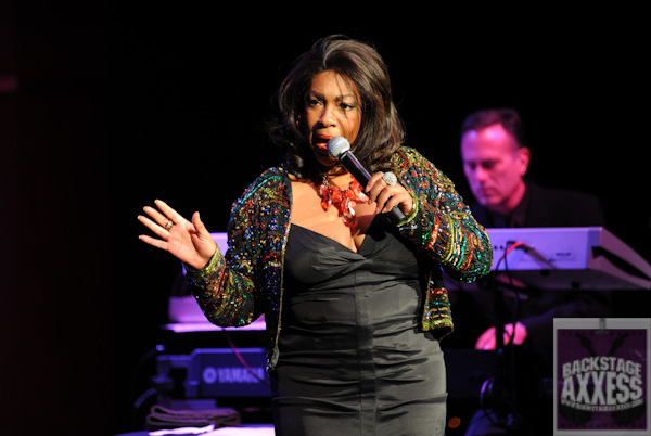 CONGRATULATIONS TO PEGGY BARRINGER FOR WINNING THE signed photo by Motown legend Mary Wilson