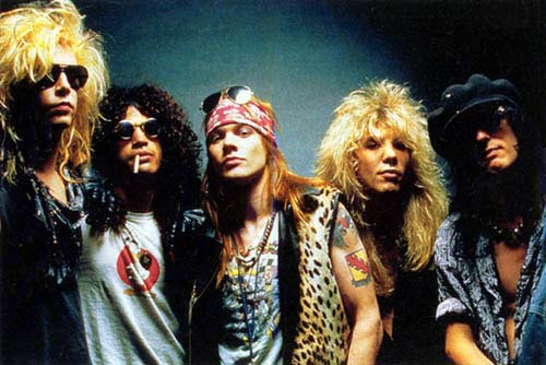 Guns N' Roses inducted into the Rock and Roll Hall of Fame