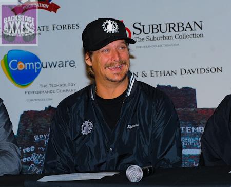 Kid Rock Press Conference @ Town Ballroom Buffalo, NY November 20, 2011
