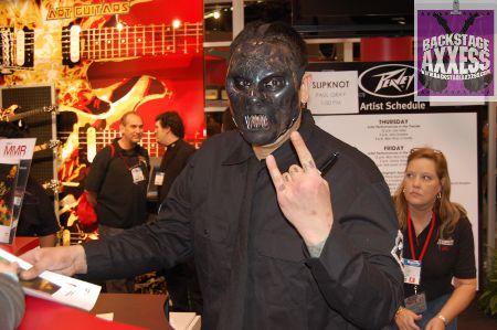 Slipknot bassist Paul Gray found dead