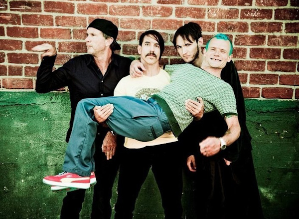CONGRATULATIONS TO MARK STEWART OF ROCHESTER HILLS, MICHIGAN for winning the Autographed Red Hot Chili Peppers Poster