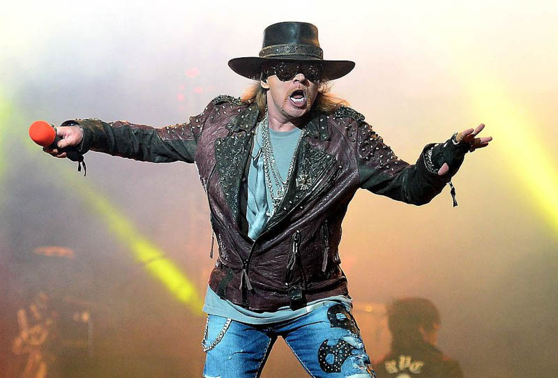 Axl Rose is Joining AC/DC for remaining dates as their vocalist