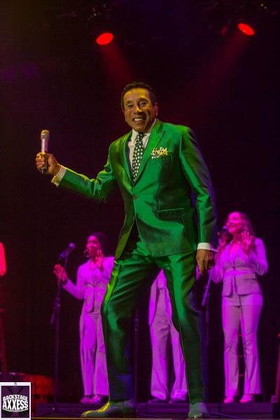 Smokey Robinson @ Seneca Events Center (Inside the Seneca Niagara Casino) Niagara Falls, NY 6-11-16