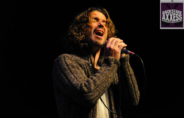 Chris Cornell @ UB Center for the Arts, Amherst, New York	 11-5-13