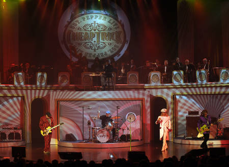 "Sgt Peppers ""Featuring Cheap Trick"" @ The Hilton, Las Vegas, Nevada 9-19-09"