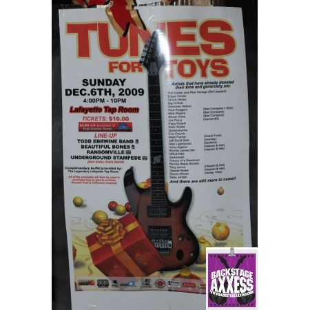 Tunes for Toys Benefit @ Lafeyette Blues Room, Buffalo, NY 12-6-09