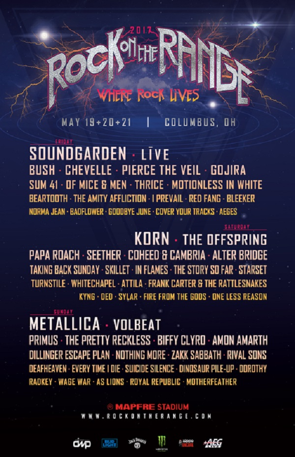 Rock On The Range 2017 Festival Experiences, Eat Local! & National Food Court Offerings
