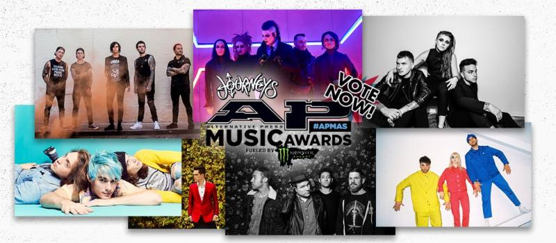 The 4th Annual ALTERNATIVE PRESS MUSIC AWARDS Announce Award Nominees