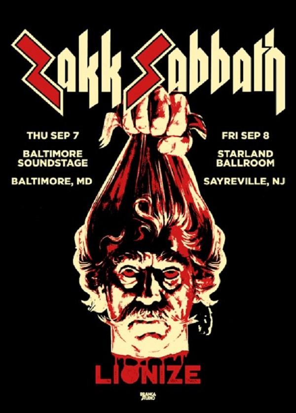 Zakk Sabbath Announces Fall Tour Dates!