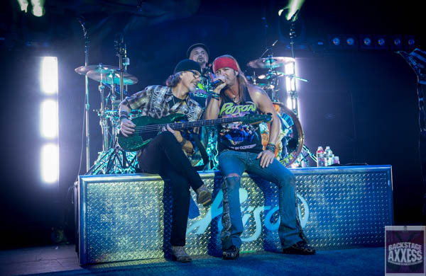 Poison and Tesla @ Times Union Arena, Albany, NY 5-9-17