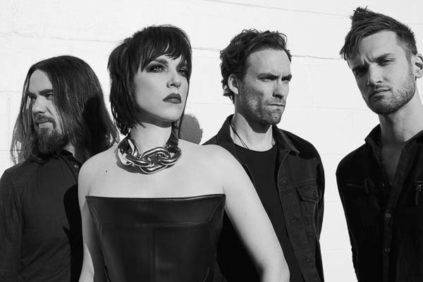 Lzzy Hale and Joe Hottinger (Halestorm) Interview