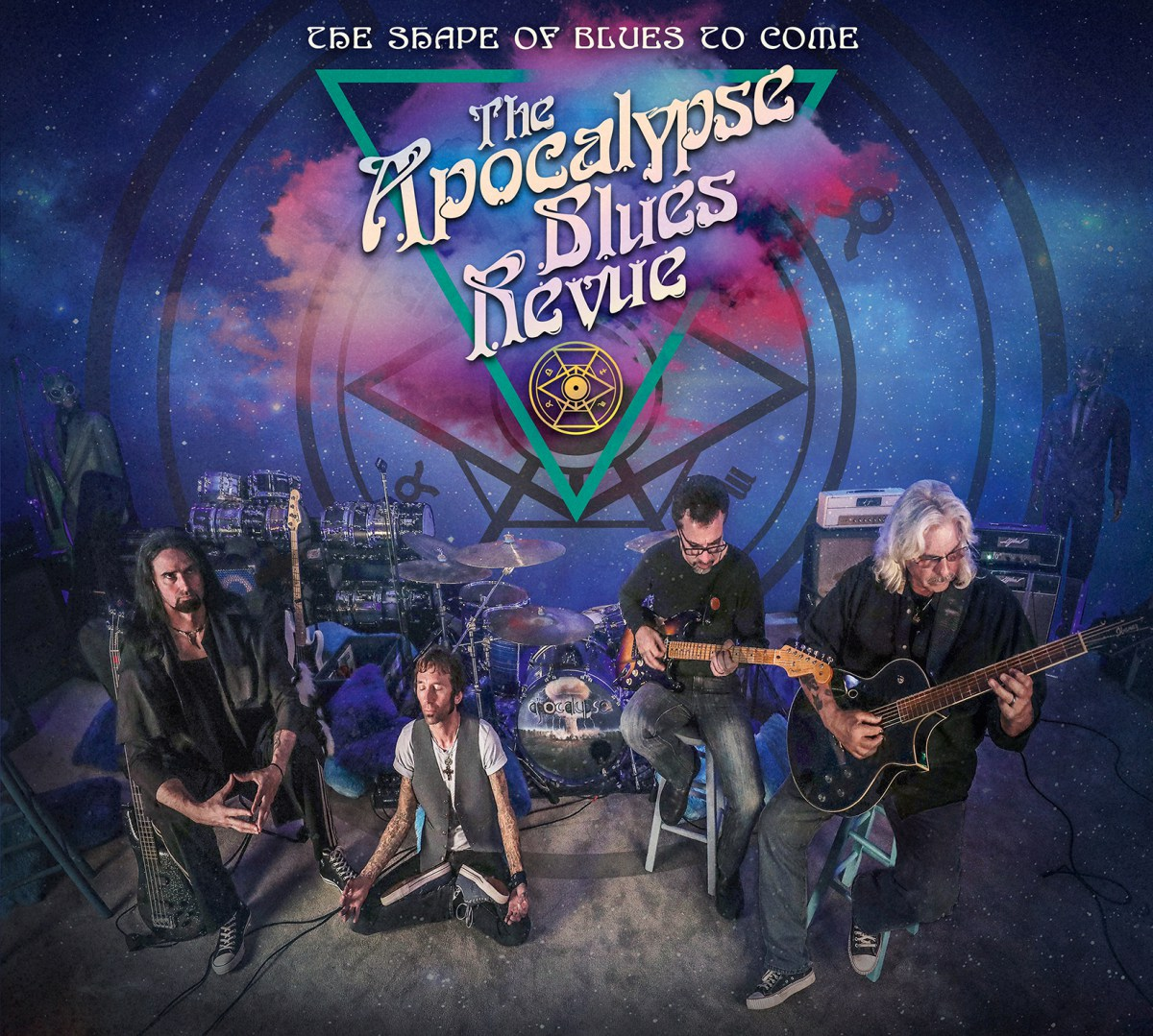 """The Apocalypse Blues Revue """"The Shape of Blues To Come"""""""