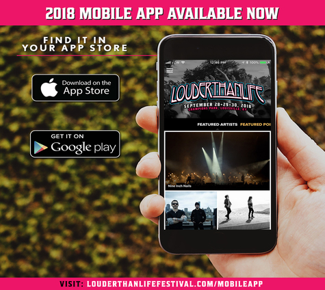 Louder Than Life Announces Daily Music Schedule And New Mobile App