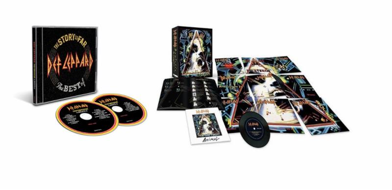 Def Leppard Release Best Of Album & Vinyl Singles Box Set Today