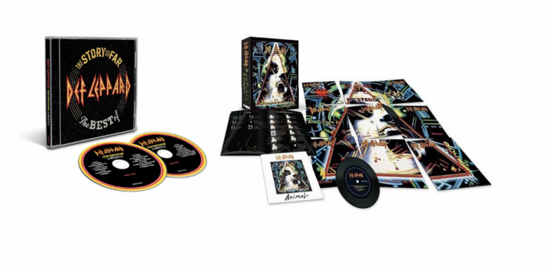 Def Leppard Release Best Of Album & Vinyl Singles Box Set Today