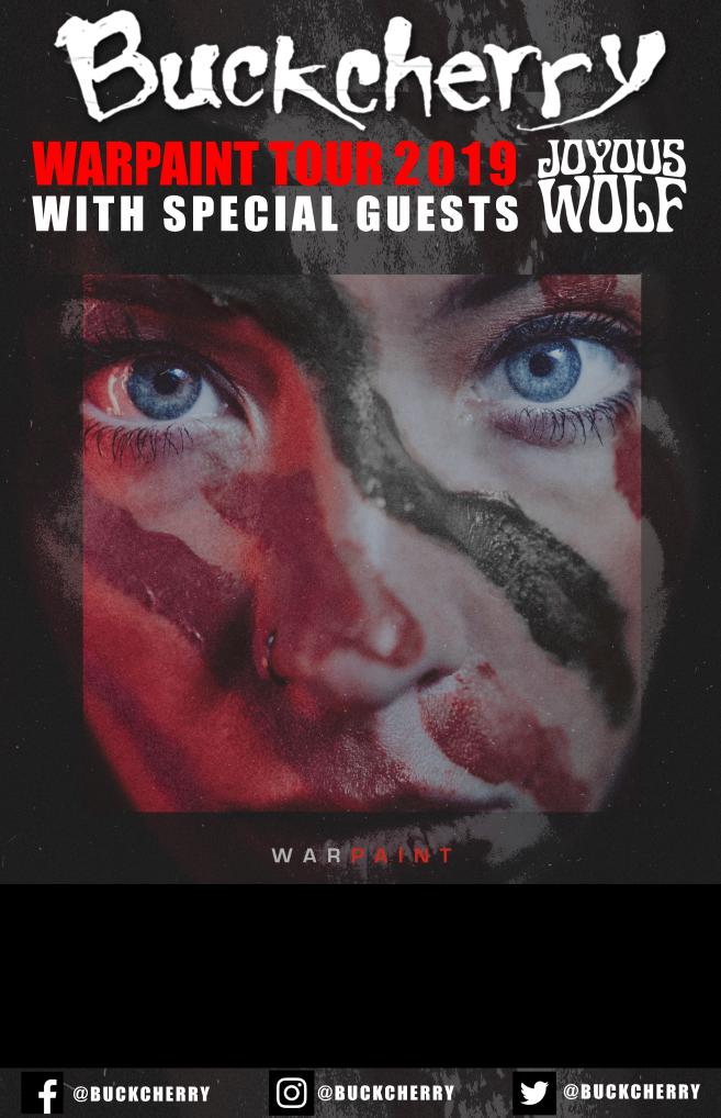 Buckcherry Announce Leg One Of Warpaint Tour