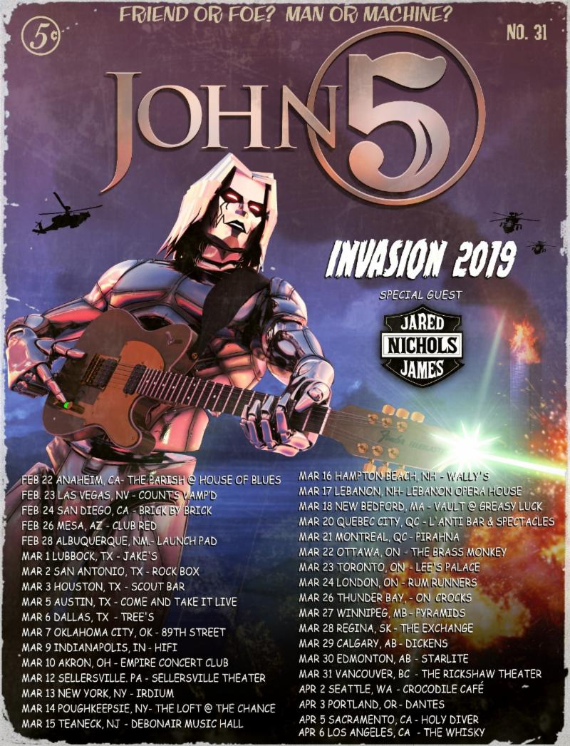 """JOHN 5 AND THE CREATURES Release """"Zoinks!"""" Music Video Teaser"""