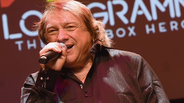 Lou Gramm (Former Foreigner vocalist) announces his retirement on stage last night at Proctor's in Schenectady, NY