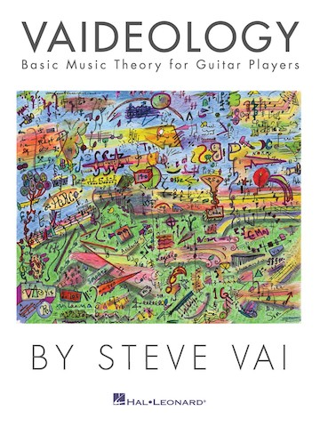 Steve Vai Releases First Music Theory Book