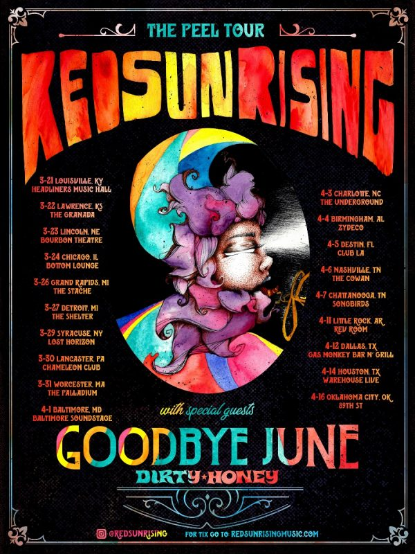 Red Sun Rising Announce Spring 2019 Headline Tour Dates