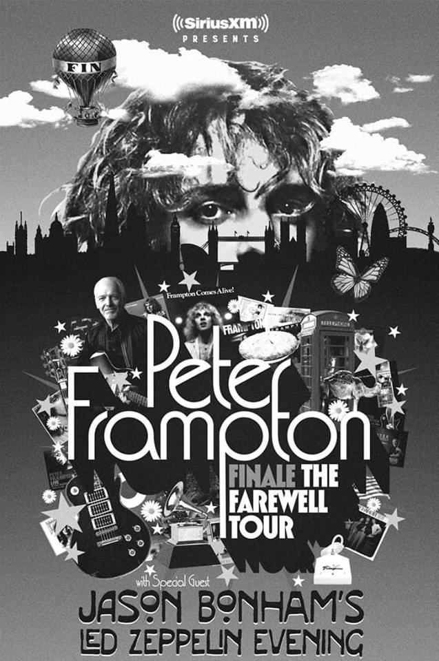 PETER FRAMPTON FINALE— THE FAREWELL TOUR PRESENTED BY SIRIUSXM