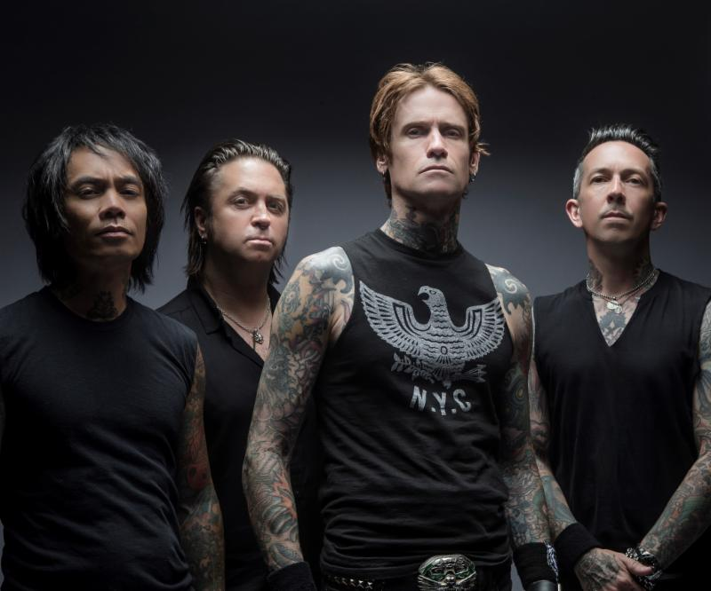 """Buckcherry Releases New Song and Title Track """"Warpaint"""""""