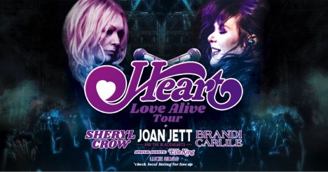 """HEART Return To The Road In 2019 For Massive """"Love Alive"""" Summer Tour"""