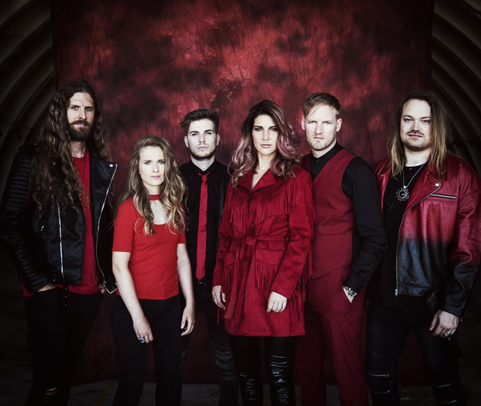 "DELAIN Release Official Live Video For ""Nothing Left (feat. Marco Hietala)"""