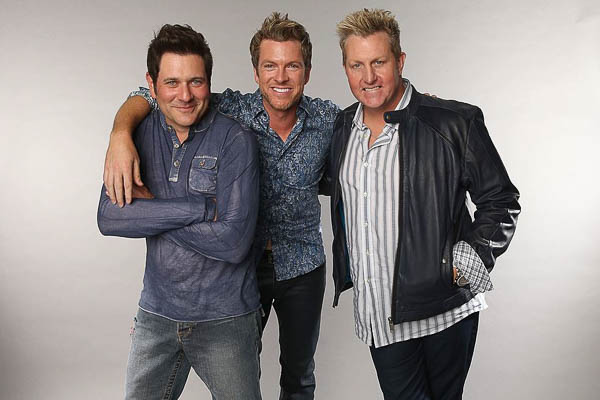"""Rascal Flatts and Vevo Release Live Performance of """"Back to Life"""""""