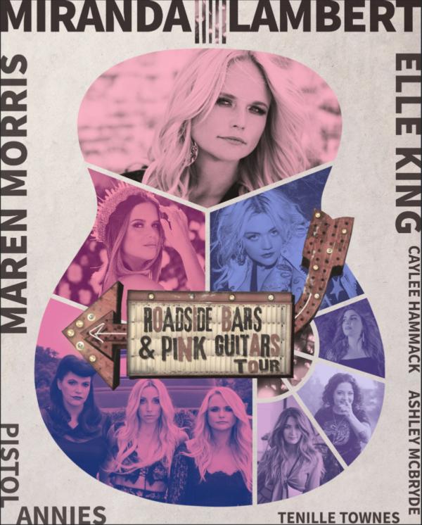 """Miranda Lambert Embarks on """"Roadside Bars & Pink Guitars Tour 2019"""""""
