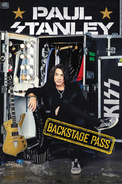 "Paul Stanley ""Backstage Pass"""