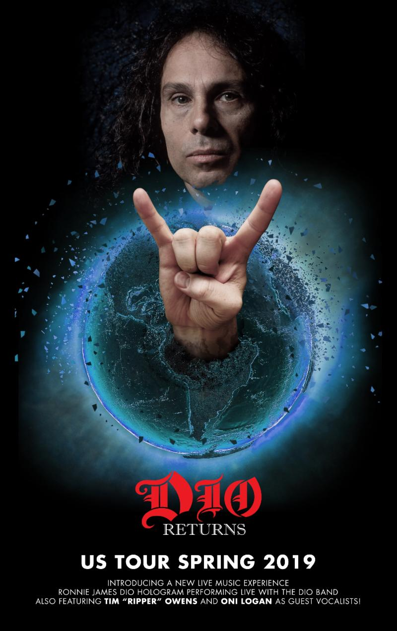 Eyellusion Presents the DIO RETURNS U.S. Tour 2019, Featuring the DIO Band and Special Guest Vocalists