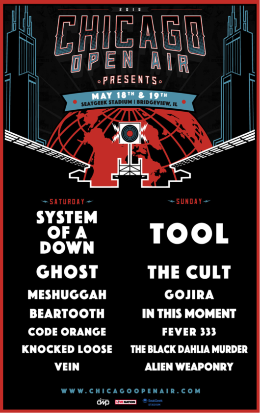 Performance Times Announced For Chicago Open Air Presents