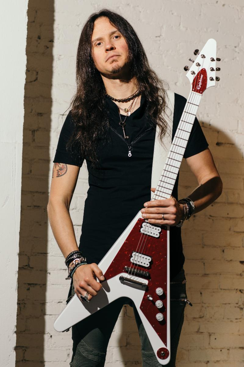 Epiphone presents 'Ltd. Ed. Dave Rude Flying V Outfit'