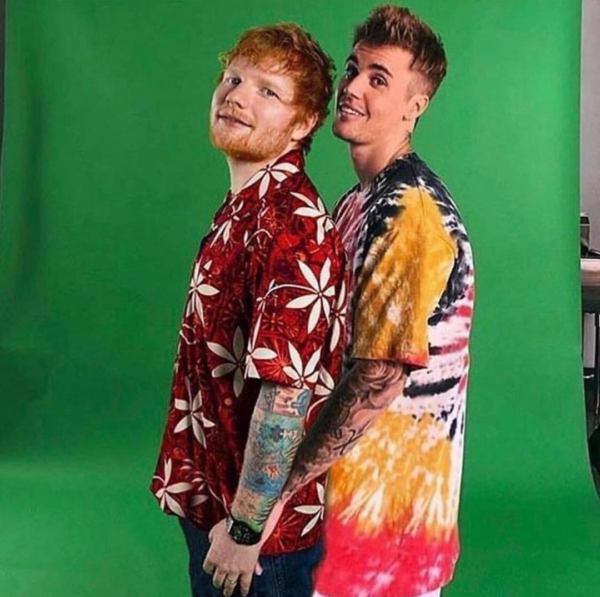 "ED SHEERAN ANNOUNCES NEW SINGLE WITH JUSTIN BIEBER – ""I DON'T CARE"""