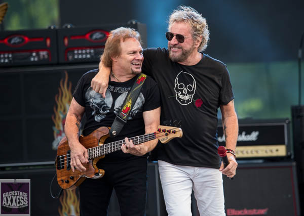 Sammy Hagar and Night Ranger @ Artpark Lewiston, NY 6-4-19