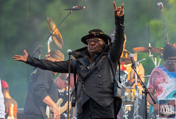 George Clinton & Parliament Funkadelic, Fishbone and Miss Velvet and The Blue Wolf@ Artpark Lewiston, NY  6-11-19