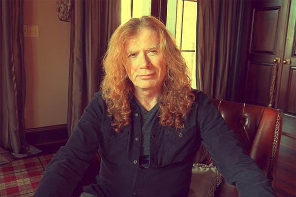 Dave Mustaine of Megadeth Announces He Has Throat Cancer